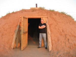 Хоган, резервация навахо