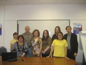 With representatives of Russian Indigenous Minorities